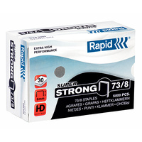Rapid 73/8 Staples Super Strong 8mm Suits Hd31