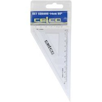 Celco Set Square 140mm 60 Degree