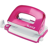 Leitz Nexxt Series Hole Punch - Wow 2 Hole 30 Sheet Pink