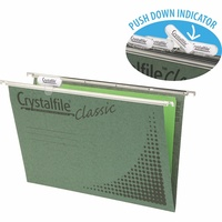 Crystalfile Suspension Files Enviro Classic Foolscap Complete