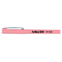 Artline 200 Fineliner Pen 0.4mm Apricot