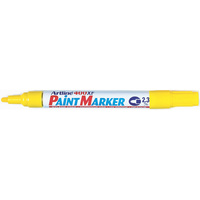 Artline 400XF Paint Markers Medium Bullet Yellow