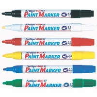 Artline 400XF Paint Markers Medium Bullet Colours Assorted