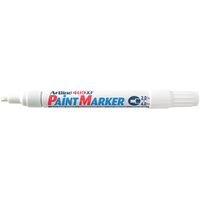 Artline 409XF Paint Marker Medium Chisel 4mm White