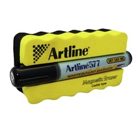 Artline 577 Whiteboard Marker Magnetic Eraser