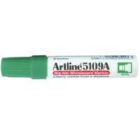 Artline 5109A Whiteboard Marker Large Chisel Green