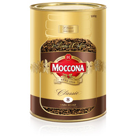 Moccona Coffee Classic Dark Roast Can 500gm