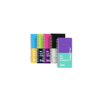 Colourhide NoteBook 200 Page Slimline Assorted Colour