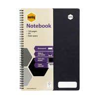 Marbig Accohide Notebook Recycled A4 120 Page