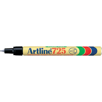 Artline 725 Permanent Marker 0.4mm Bullet Black