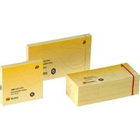 Marbig Notes Repositional 75X75mm Yellow 12Pk