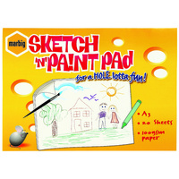 Marbig Sketch N Paint Pad A3 20 Sheets