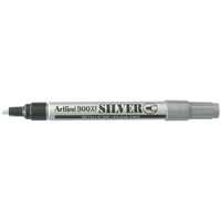 Artline 900XF Metallic Marker Medium Bullet Silver