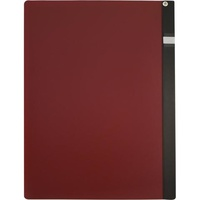 Marbig Clamp Files A4 Maroon