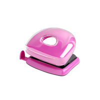 Rexel Joy Hole Punch 10 Sheet Pink