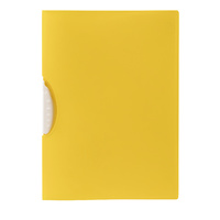 Marbig Swing Clip Report Cover Yellow