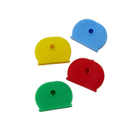 Rexel ID Key Ring Toppers Coloured Asst Pk4