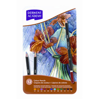 Derwent Pencils Academy Colour Set Tin 12