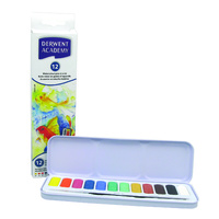 Derwent Academy Pan Set Water Colour Set 12