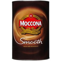 Moccona Coffee Smooth Granules 1Kg Tin