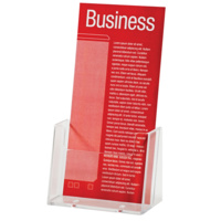 Esselte Brochure Holder DL Free Standing Single