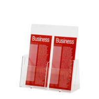 Esselte Brochure Holder 2 Compartments