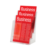 Esselte Brochure Holder A4 3 Tier Free Standing