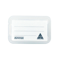 Kevron ID30 Key Tags Giant White/Clear