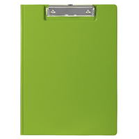 Marbig Summer Colour Clipfolder A4 Pvc Lime