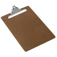 Marbig Masonite Clipboard Foolscap Large Clip