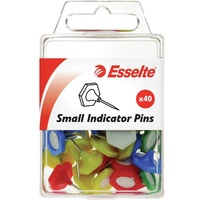 Esselte Pin Indicator Small 15X13mm Assorted