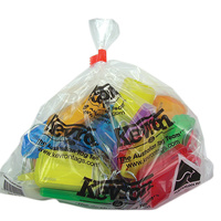 Kevron ID30 Key Tags Giant Assorted Colours 25Pk