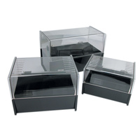 "Esselte SWS Card File Box 102mm X 152mm (4""X6"") Black"