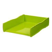 Esselte Nouveau Document Tray Lime Green
