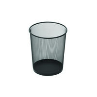 Esselte Mesh Waste Bin 10 Litre Black