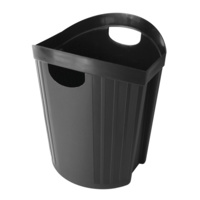 Esselte Nouveau Waste Bin 15L Black