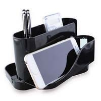 Esselte Smart Desk Organiser Black