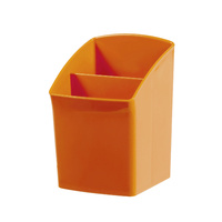 Esselte Nouveau Pencil Cup Orange