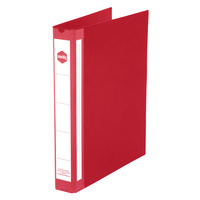 Marbig Enviro Deluxe Binders A4 4D Ring 25mm Red
