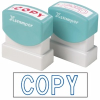 X-Stamper Self Inking Stamp 1006 Copy Blue