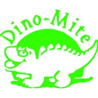 X-Stamper Self Inking Merit Stamp 11437 Dino Mite Green