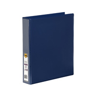 Marbig Enviro Insert Binders Clearview A4 4D Ring 38mm Blue