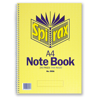 Spirax 595A Notebook A4 240 Page 297X210mm