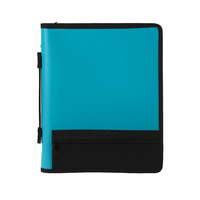Marbig 3 Ring Zip Binder Blue
