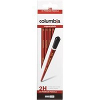 Columbia Copperplate Pencil Hexagon 2H