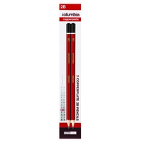 Columbia Copperplate Pencil Hexagon 2B Pk2