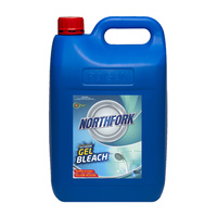 Northfork Bathroom Gel Bleach Antibacterial 5Lt