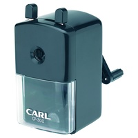 Carl CP300 Pencil Sharpener Rotary Black