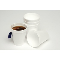 Disposable Cups No 8J8 Foam Cups 237ml (8Oz) Pk25