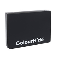 Colourhide Zipper Box File Foolscap Black